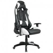fauteuil de bureau noir fauteuil de bureau baquet racing noir et blanc space
