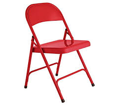 Orb Chair Habitat Macadam Red Metal Folding Chair Also Available In Yellow