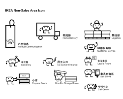 ikea icons for non sales area beibeidesign