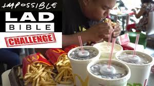 Challenge Lad Bible Lad Bible Impossible Big Mac Challenge Philippine Edition