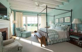 elegant leopard print beddingin bedroom farmhouse with killer blue