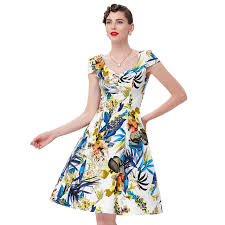 Belle Poque Retro Rockabilly Vintage Dresses Swing Housewife