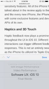 software ux ios 10 and haptics the iphone 7 and iphone 7 plus