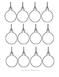 ornaments coloring pages free printable ornaments coloring page for