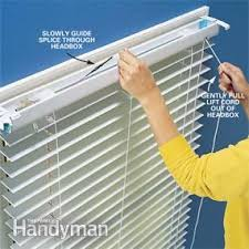 Vertical String Blinds Fixing The Lift Cord On A Miniblind Family Handyman