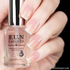 f u n lacquer be on top glossy top coat hypnotic polish