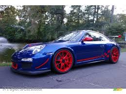 porsche blue gt3 2011 porsche 911 gt3 rs in aqua blue metallic guards red 783108