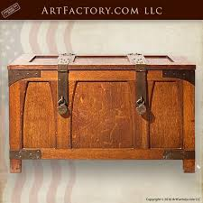 craftsman style coffee table craftsman storage trunk mission style coffee table