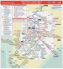 Spain Train Map by Escorial 2008
