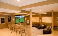 great basement interior design ideas stylish basement design ideas