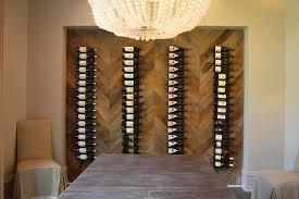 wall niche wine rack design ideas