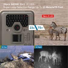 bestguarder hd pir infrared night vision hunting camera 12mp