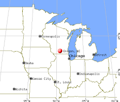 map of oregon wi oregon wisconsin wi 53575 profile population maps real