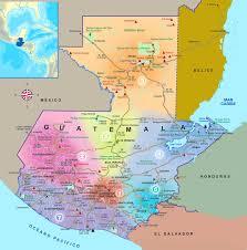 Guatemala World Map by Inguat Microsite