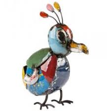 ee i ee i o billy baby bird metal garden ornament