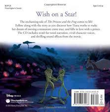 princess frog storybook cd disney book