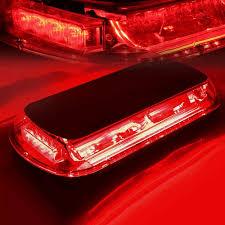 magnetic base strobe light red white 44 led emergency strobe light magnetic base
