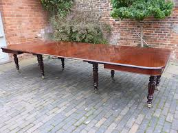 Dining Table Seats 14 Superb 8 Leg Extending Dining Table In Mahogany Seats 14 Plus
