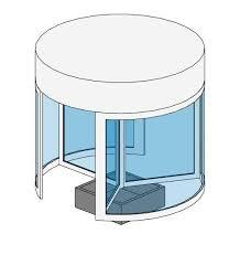 Revit Curtain Panel Revitcity Com Object Revolving Door Curtain Panel