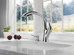 Grohe Kitchen Faucet Warranty Faucet Com 4153 Ar Dst In Arctic Stainless By Delta