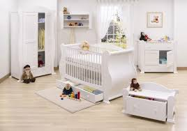 Baby Crib Next To Bed Baby Bedroom Ideas For Crib On Wooden Floor Blue