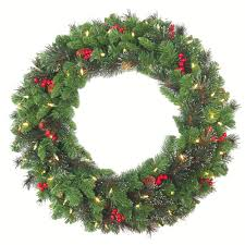 prissy ideas wreaths with lights uk and timer ireland