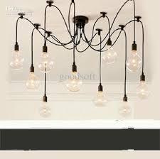 discount clearance sale edison bulb chandelier l new restaurant