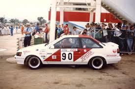a toyota ex toyota team australia ae86 group a toyota corolla coupe joins
