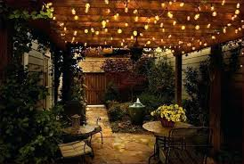 Hanging Patio Lights String How To Plan And Hang Patio Lights Patio Lighting Outdoor Living