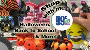 halloween clearence 99 cents only store shop with me back to halloween