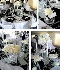 black and white wedding decorations wedding ideas black and white grey weddings wedding tables and
