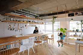 architect design homes tenhachi house a family apartment with playful shared living spaces