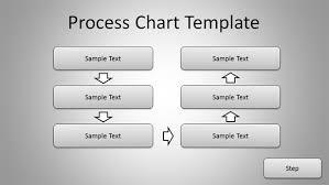 powerpoint process flow chart template