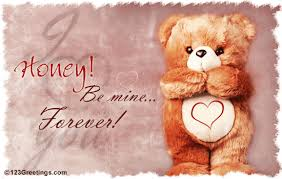 be mine teddy honey be mine forever teddy picture