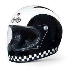bell motocross helmets uk premier trophy helmet stripe chequered full face helmets