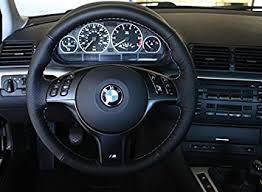 bmw 1999 3 series amazon com bmw 3 series e46 1999 04 steering wheel cover m3 by