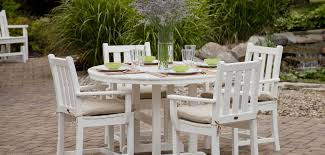Garden Table Traditional Garden Furniture By Polywood Vermont Woods Studios