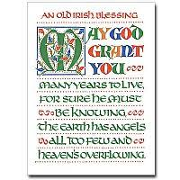 blessing cards blessing cards buy celtic deluxe blessings