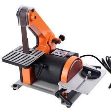 Bench Top Belt Sander Power Combination Disc U0026 Belt Sanders Amazon Com Power U0026 Hand
