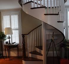 Stair Trim Molding by Custom Stairs U0026 Trim Ltd Spiral Stair Installation Garden