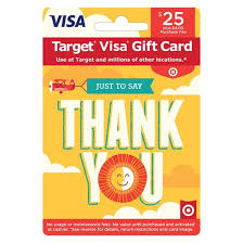 prepaid gift cards with no fees visa thank you gift card 25 4 fee target