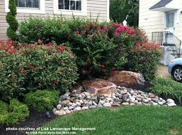 Rock And Brick Combinations Victor by Front Yard Landscape Designs With Before And After Pictures
