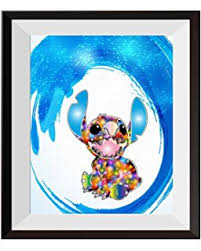 amazon lilo u0026 stitch canvas print wall art decor giclee