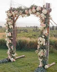wedding arch garland arch garland option 2 inspiration with wired blooms scattered