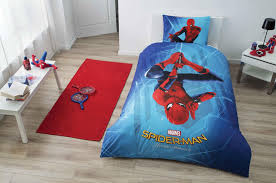 Spiderman Double Duvet Tac Licensed Bed Linen Spiderman Homecoming Zorluteks Textile
