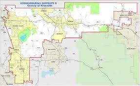 Map Of Riverside Ca Riverside County Supervisor 2018 Vote Hewitt