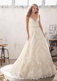 mori bridal wedding dress style 8124 morilee