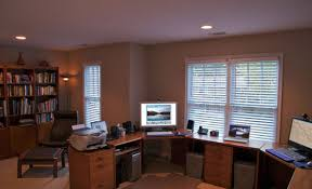 2 person desks living room appealing surprising two person desk home office