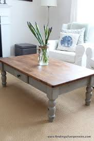 Old Wooden Coffee Tables by Best 10 Painted Coffee Tables Ideas On Pinterest Farm Style