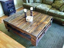 Rustic Square Coffee Table Best 25 Rustic Coffee Tables Ideas On Pinterest Pallette Coffee